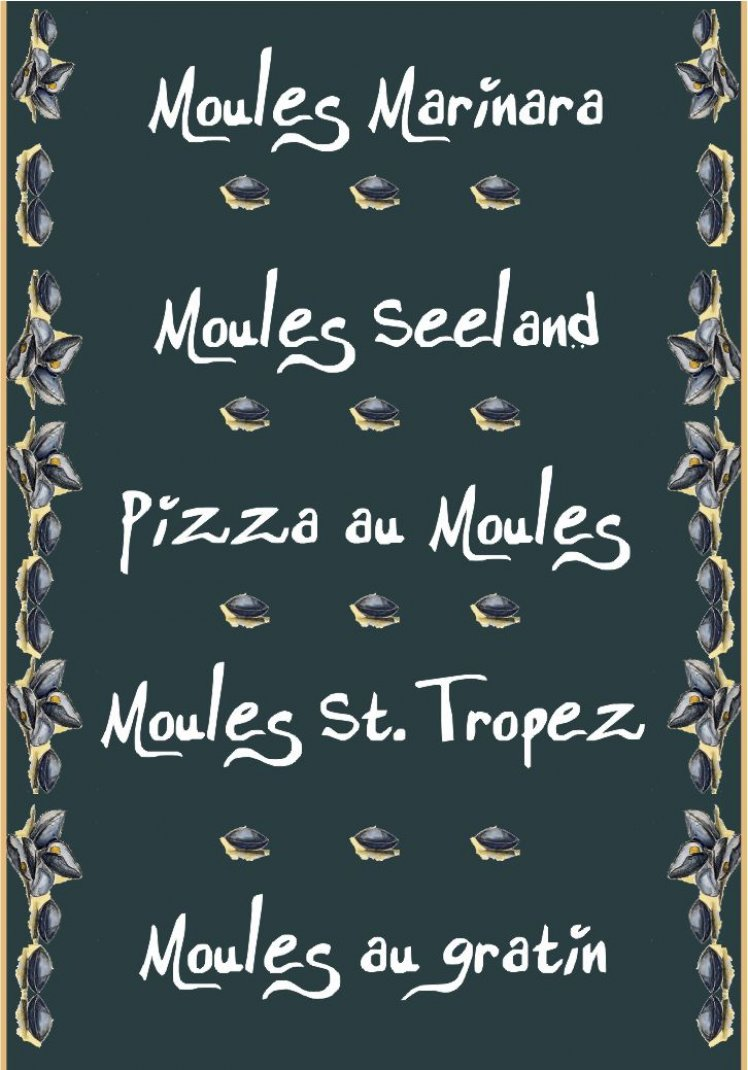Moules Scroll